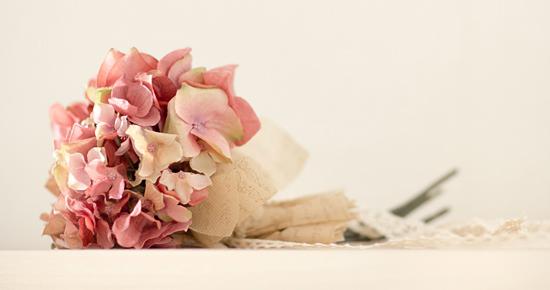 あじさいの花束造花